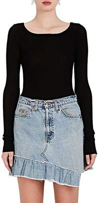 Faith Connexion Women's Cotton Long-Sleeve Top