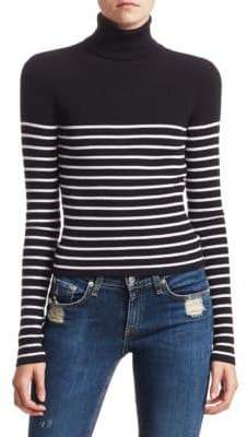 A.L.C. Michael Stripe Knit Turtleneck