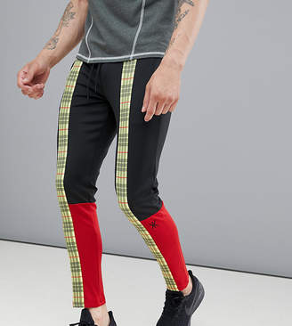 KI5-A Plaid Track Pants