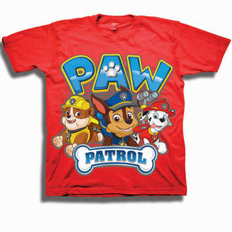 Freeze Boys 4-20 Graphic Tees Boys Crew Neck Short Sleeve Paw Patrol Graphic T-Shirt-Preschool