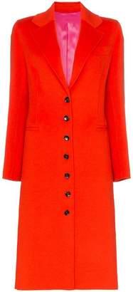 Joseph Marlene single-breasted wool cashmere blend coat
