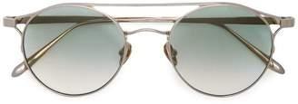 Linda Farrow round aviator sunglasses
