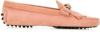 Tod's Gommino fringed buckle loafers