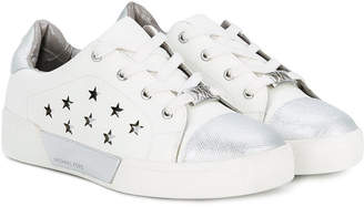 Michael Kors Kids star embellished sneakers
