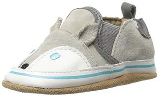 Robeez Kids' Liam Crosshatch Crib Shoe