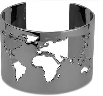 Cristina Ramella World Cuff Black-Rhodium