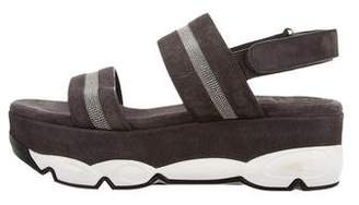 Brunello Cucinelli Monilli Flatform Sandals