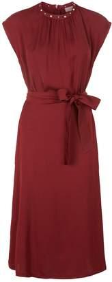 Sandro Embellished Midi Dress