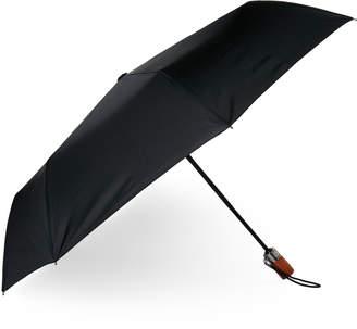 London Fog Black Auto Open Mini Umbrella