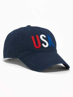"""Old Navy """"USA"""" Graphic Baseball Cap for Adults"""