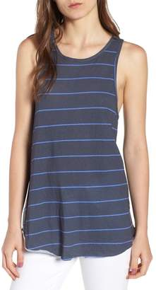 Frank And Eileen Stripe High Neck Tank
