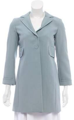 Marc Jacobs Short Notch-Lapel Coat