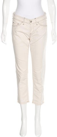 Isabel Marant Isabel Marant Mid-Rise Cropped Jeans w/ Tags