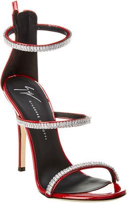 Giuseppe Zanotti Harmony Crystal Patent Sandal