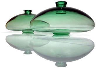 """Tsunami Glassworks Hand-Blown Glass Vase """"Agi"""""""
