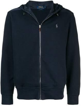 Polo Ralph Lauren zip front logo hoodie