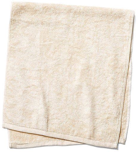 Silk Terry Hand Towel - Natural