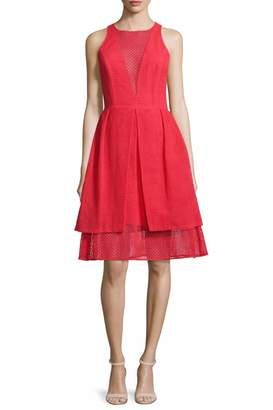 Sachin + Babi Eyelet Sheath Dress
