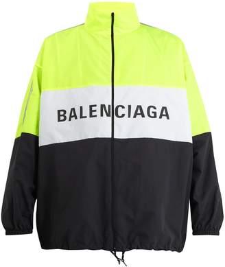 Balenciaga Logo-print technical jacket
