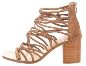 Rag & Bone Suede Multistrap Sandals