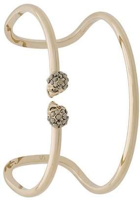 Alexander McQueen double cuff bracelet