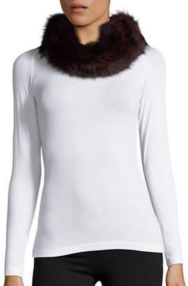 Surell Convertible Fox Fur Headband