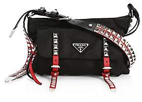 Prada Women's Vela Nylon Crossbody Bag