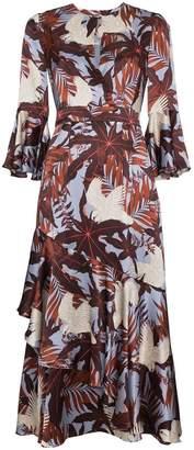 Erdem Florence silk floral dress
