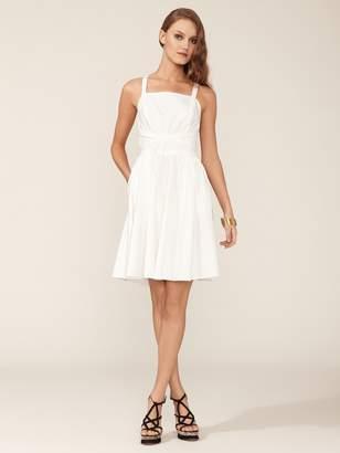 Halston Cotton Criss-Cross Dress