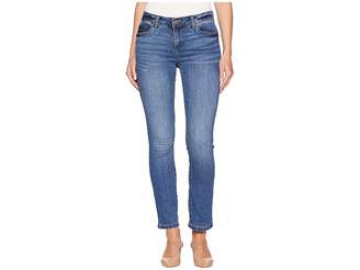 Jones New York Madison Slim Ankle Cool-Max in Dreamer Wash Women's Jeans