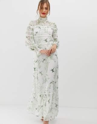 5d20d862b0a Ted Baker Hariet lace trim maxi dress