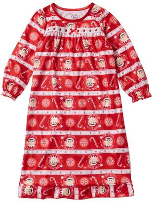AME Elf on the Shelf Granny Nightgown (Little Girls & Big Girls)