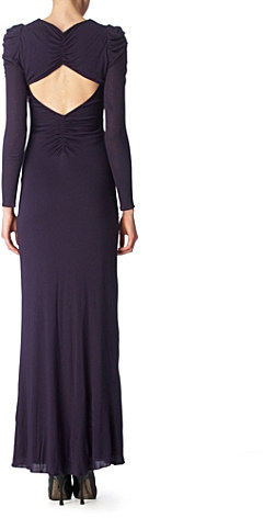 Alice By Temperley Caprice jersey gown
