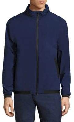 North Sails Solid Zip-Front Jacket