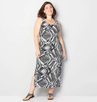 Avenue Geo Maxi Dress