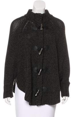 MICHAEL Michael Kors Knit Zip-Up Cardigan