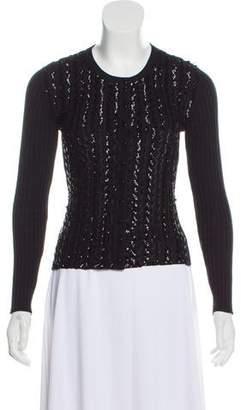Sonia Rykiel Sequin Knit Cardigan