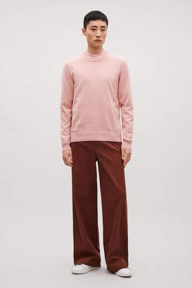 Cos COTTON-KNIT JUMPER