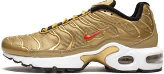 Nike Plus TN SE BG Metallic Gold/University Red