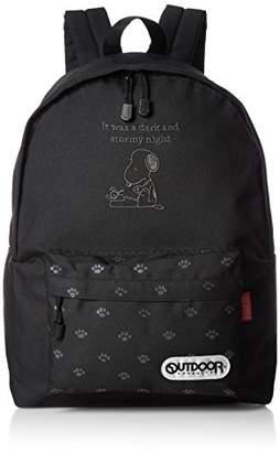 Outdoor Products (アウトドア プロダクツ) - [アウトドアプロダクツ] リュックサック デイパック(M) SY1042 ブラック ブラック