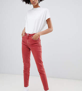 Weekday Way High Waist Slim fit Jeans in Organic Cotton