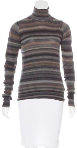 Saint LaurentYves Saint Laurent Wool Turtleneck Sweater