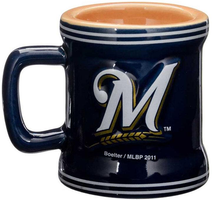 Boelter Brands Milwaukee Brewers 2 oz. Mini Mug Shot Glass