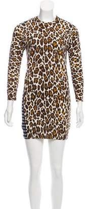 Stella McCartney Printed Sweater Dress
