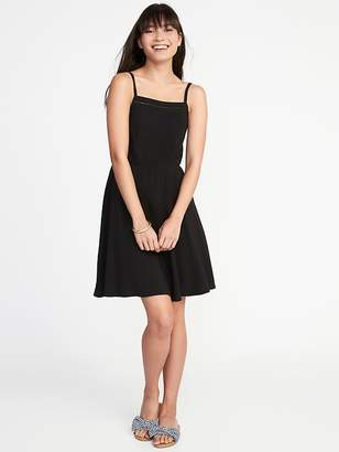 Old Navy Fit & Flare Square-Neck Cami Dress for Women