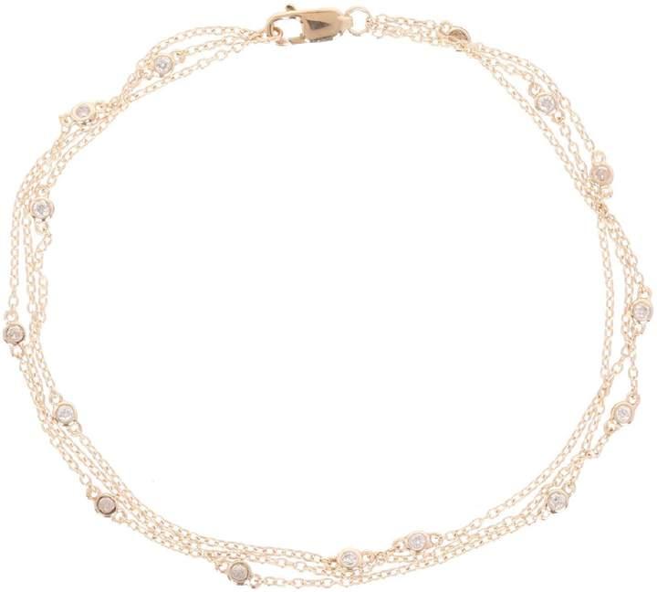 Atelier du diamant Voie Lactée - Typ Armband Kette, Mehrreihig - goldfarben