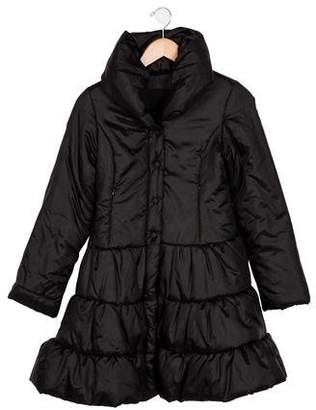 MonnaLisa Girls' Long Puffer Coat