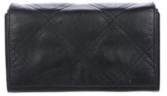 Lanvin Quilted Sugar Wallet On Chain Black Quilted Sugar Wallet On Chain