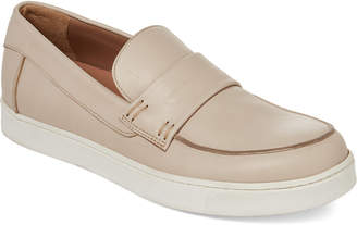 Gianvito Rossi Rope Leather Slip-On Sneakers