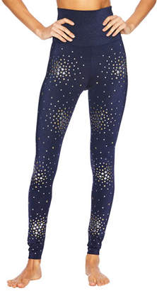 Beach Riot Piper High-Rise Glitter Star Leggings